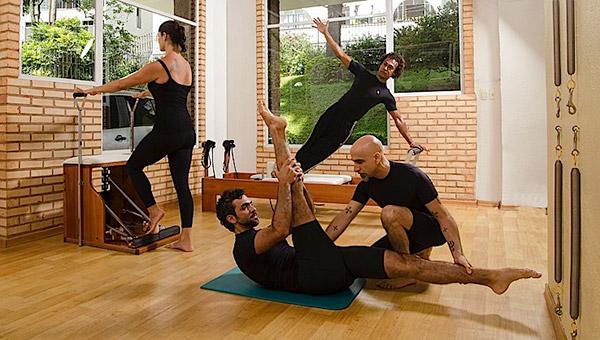 Características das aulas de Pilates
