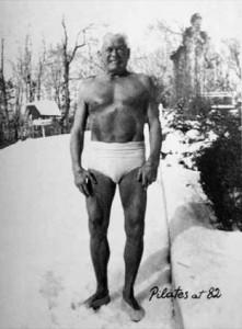 Joseph Pilates aos 82 anos