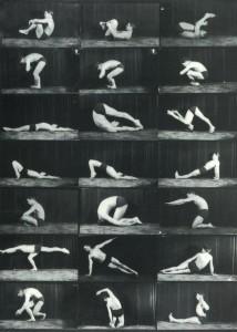 Joseph Pilates executando sequência de solo
