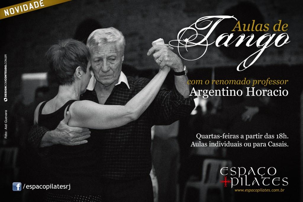 Aulas de Tango no Espaço Pilates
