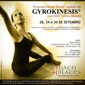 Programa Happy Moves - update em GYROKINESIS® com SMT Valéria Mauriz