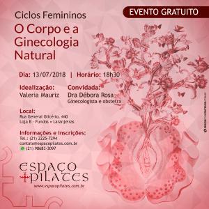 Ciclos Femininos: O corpo e a ginecologia natural
