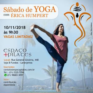Sábado de Yoga - Érica Humpert